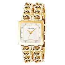 Relógio Technos Feminino Elegance Elos Quadrado 2035lnb/4k