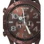 Nixon - 51-30 Chrono Leather - Allbrown/brown - Promcional