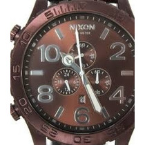 Nixon - 51-30 Chrono Leather - Allbrown/brown - Promcional
