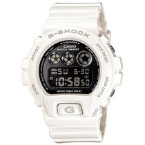 Relógio Casio G-shock Dw 6900nb 7dr 200 Mt Branco Alarme Nfe