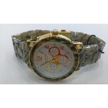 Relógio Original Atlantis Estilo Absolut Madre Perola