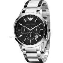 Relógio Emporio Armani Ar2434 Original, Completo Garantia
