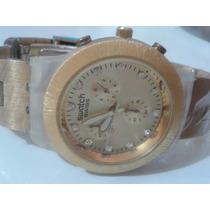 Relógio Swatch Feminino Quartz .lindo Presente