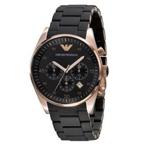 Relógio Emporio Armani Ar5905 Preto Com Garantia - Original*