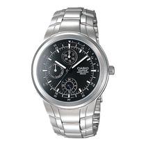 Relógio Casio Edifice Ef-305 D Análogo Calendário Wr-100m Pt