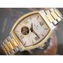 B U L O V A Relógio Bulova Automatico 98a131 Aço Plaque Ouro