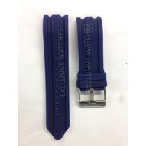 Pulseira Relogio Nautica 24mm Azul