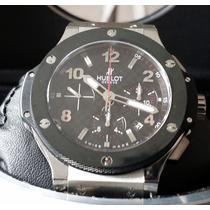 Relógio Eta Valjoux - Hublot Big Bang Steel Ceramic Hub4100