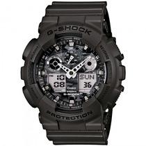 Relógio Casio Ga-100cf-8adr G-shock Camuflado - Refinado