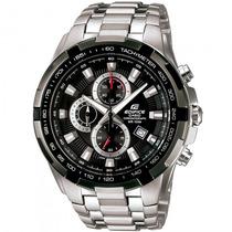 Relógio Casio Ef-539d-1avdf Taquímetro Cronógrafo - Refinado