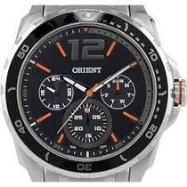 Relógio Masculino Orient Multifunção Prata!