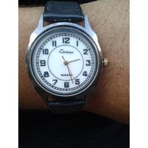Belo Relógio Cartier Feminino Original Maquinario Japan
