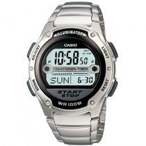 Relógio Casio W-756d-1avdf Esportivo Cronógrafo - Refinado