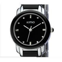 Relógio De Pulso (luxo) Importado Kimio Luxury