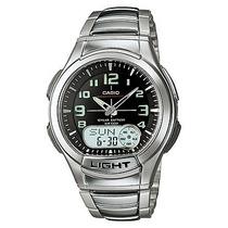 Relógio Casio Aq-180 Wd Digital Aço