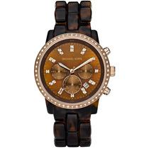 Relógio Michael Kors Mk5366 Tartaruga 100% Original Lindo