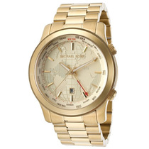 Relógio Michael Kors Mk5960 Dourado Mapas 100% Original 2015