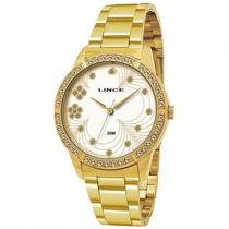 Relógio Lince Lrgj004l S1kx Feminino Dourado - Refinado