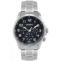 Relógio Orient Mbssm040 P2sx Sport Masculino Prata- Refinado