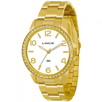 Relógio Lince Lrgj028l S2kx Feminino Dourado - Refinado
