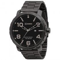 Relógio Xgames Xmss1002 P2px Masculino Preto - Refinado