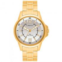 Relógio Lince Mrg4040s B2kx Masculino Dourado - Refinado