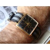 Relógio Movado Maçonaria Maçon Automático Plaque Ouro 18k