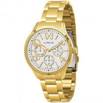 Relógio Lince Lmg4172l S2kx Feminino Dourado - Refinado