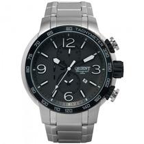 Relógio Orient Mbssc090 P2sx Sport Masculino Prata- Refinado