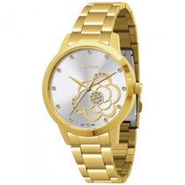 Relógio Lince Lrg4178l S1kx Feminino Dourado - Refinado
