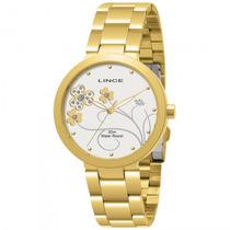Relógio Lince Lrg4152l B1kx Feminino Dourado - Refinado