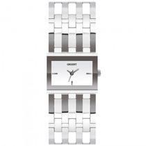 Relógio Orient Lbss0066 S1sb Feminino Quadrado - Refinado