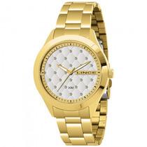 Relógio Lince Lrg4198l Sxkx Feminino Dourado - Refinado