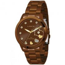 Relógio Lince Lrb4173l M1mx Feminino Marrom - Refinado