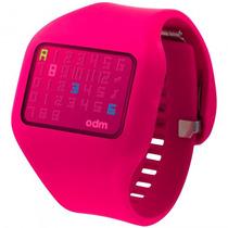 Relógio Odm O.dd126-3 Rxrx Digital Feminino Rosa - Refinado
