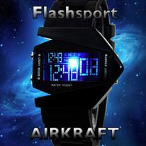 Relógio Esportivo Digital Led V Masculino A Luz Muda De Cor
