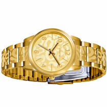 Relógio Lince Dourado Feminino (orient) Lrgk034l Prova Dágua