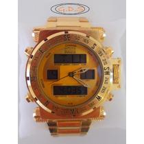 Relógio Invicta 12488 Coalition Forces-dourado-ouro