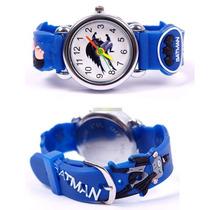Relógio Batman Infantil Criança Pulseira 3d