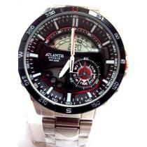Relógio Atlantis Fantasy Prateado - Original