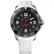 Relógio Tommy Hilfiger Gent Sports Cole Branco Th1790986 Ori