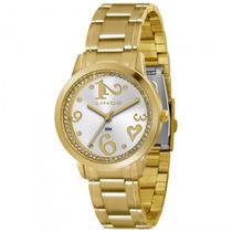 Relógio Lince Lrg4274l S2kx Feminino Dourado - Refinado