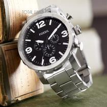 Relógio Fóssil Jr1353 - Garantia De 2 Anos + Nf + Brinde!!!.