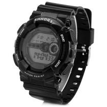 Relógio De Pulso Shhors Shock Digital Led Prova D