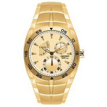Relógio Orient Dourado Masculino Mgssm001 C1kx
