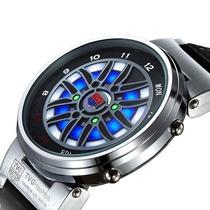 Relógio Led Tvg Wheel X6 Display Binário Ajuste De Brilho