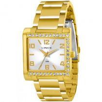 Relógio Lince Lqgk032l S2kx Feminino Dourado - Refinado