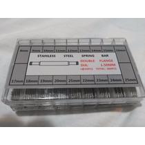 Caixa C/ 360 Pinos Em Aço Inox P/ Relógios