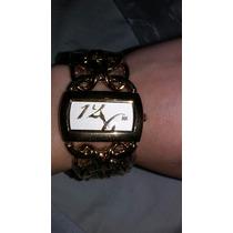 Relógio Banhado Luxo Feminino