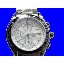 Relógio Masculino-casio Edifice Cronogroph Ef-503d -7av